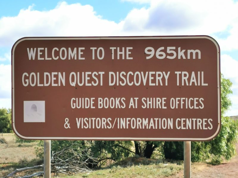 Golden Quest Discovery Trail - Coolgardie