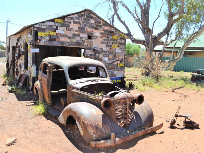 gwalia ghost town museum car