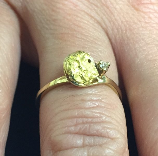 Natural Gold Nuggets & Jewellery