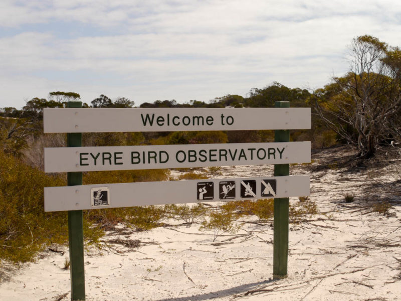 Eyre Bird Observatory - Norseman and the Nullarbor