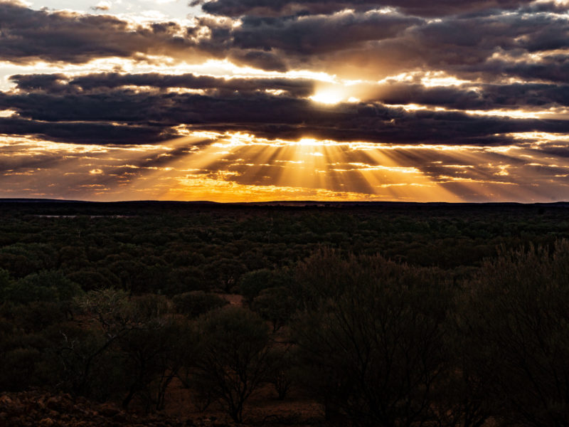 Red Hill Lookout - Wiluna