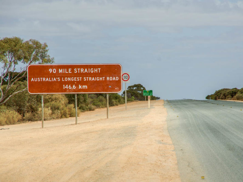 90 Mile Straight - Nullarbor