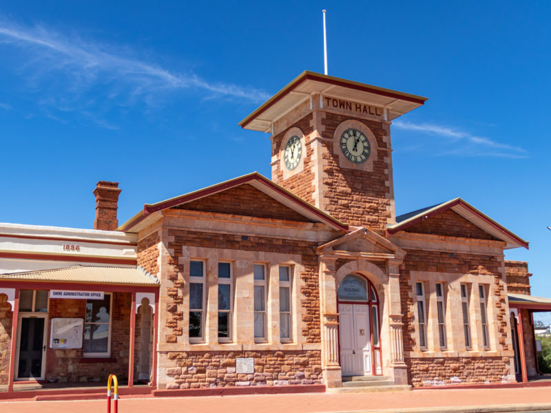 Menzies Town Hall and Shire Offices