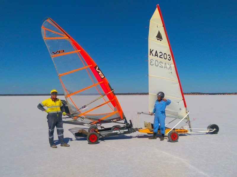 Lake Lefroy - Land Kite and Sail - Kambalda