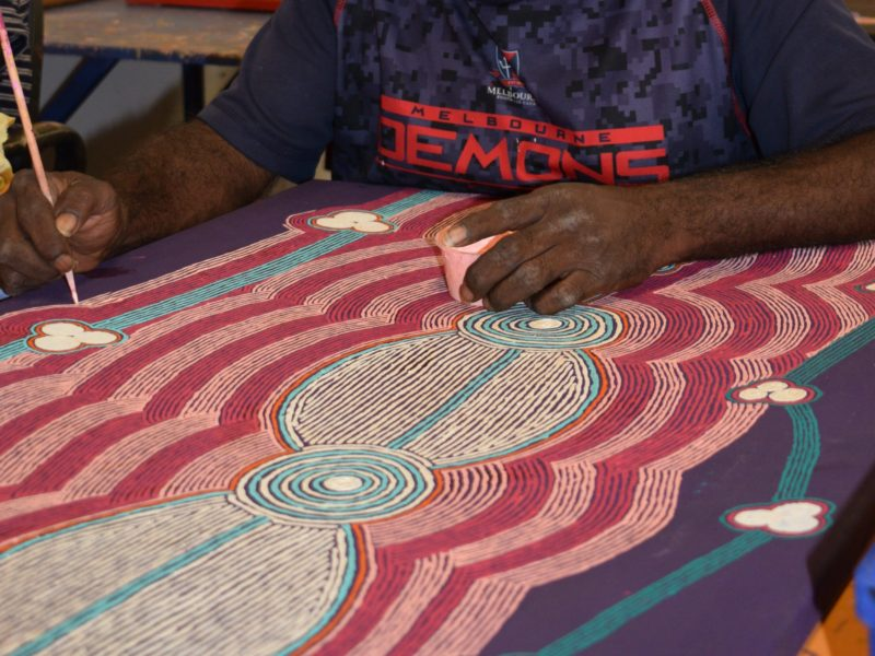 Papulankutja Artists Aboriginal Corporation Blackstone