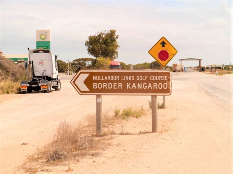 Border Village Nullarbor Links