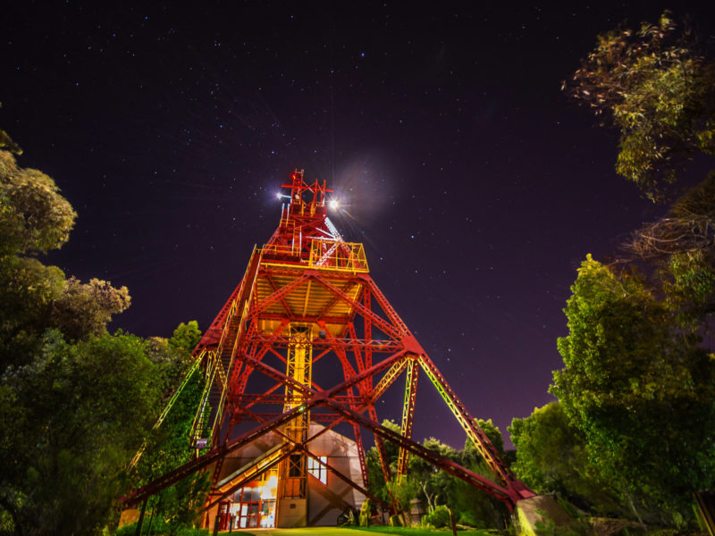 Ivanhoe Headframe - Museum of the Goldfields