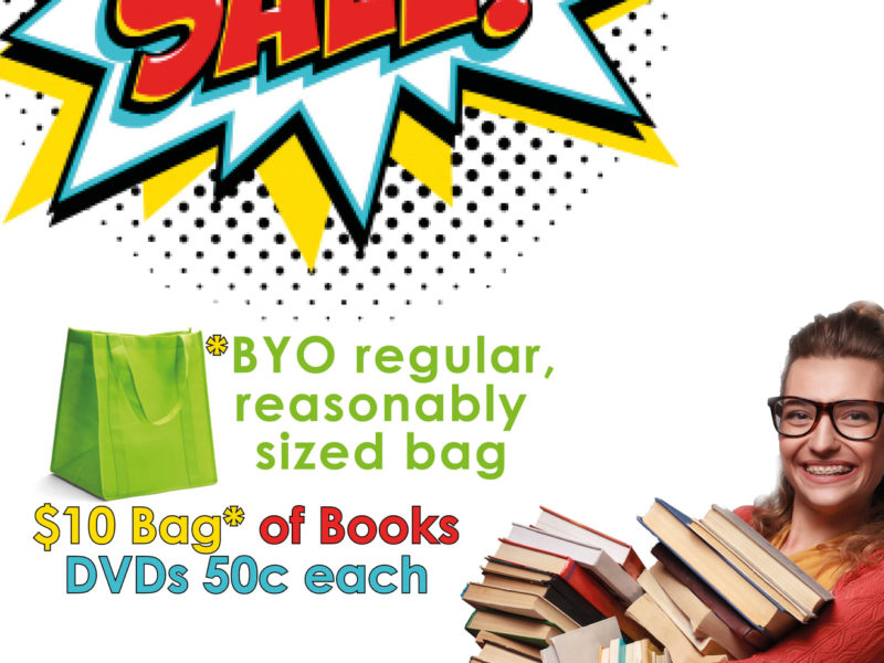 Esperance Library Book Sale