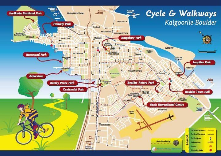 Cycle & Walkways Map