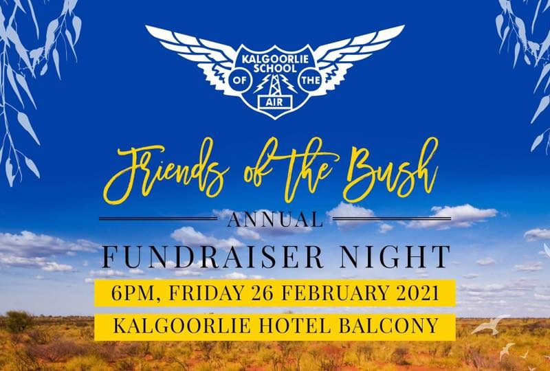 Friends of the Bush Fundraiser Night 2021 Kalgoorlie Boulder