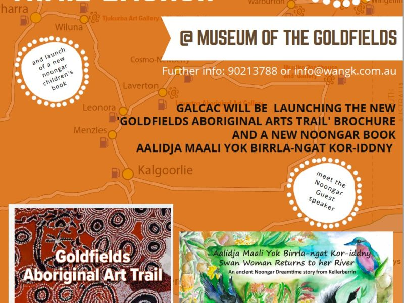 Goldfields Aboriginal Language Centre - Trail Launch kalgoorlie