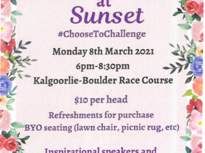 International Women's Day - Kalgoorlie