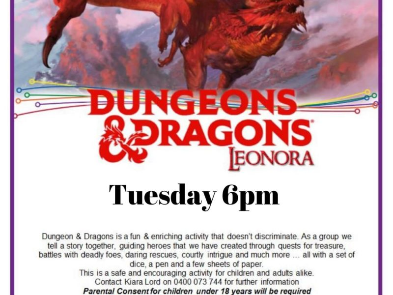Dungeons and Dragons - Leonora