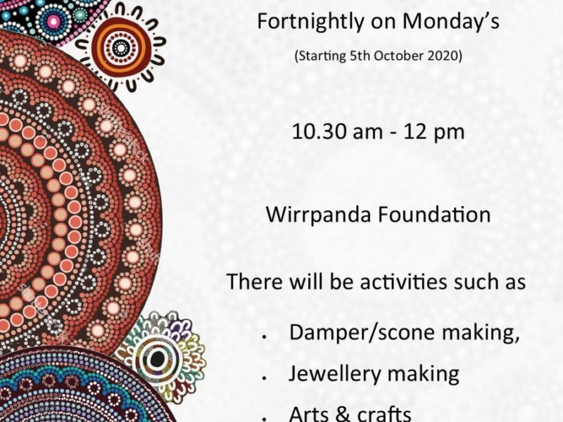 Monday Yarning Circle - Leonora