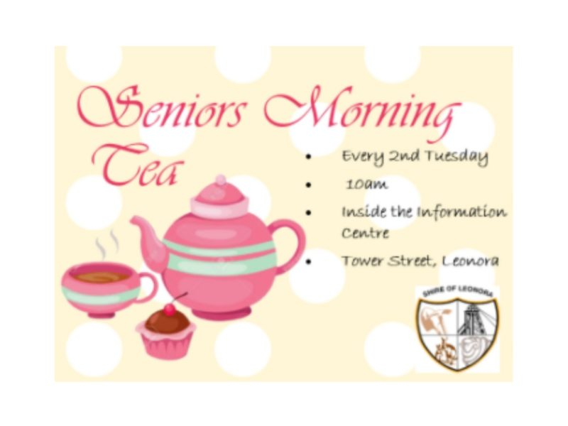 Seniors Morning Tea - Leonora