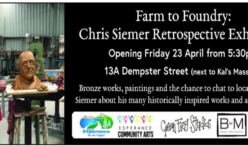 Farm to Foundry Exhibition Esperance