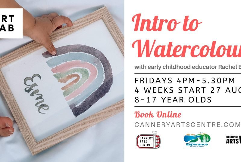 Intro to Watercolours - Kids - The Cannery Arts Centre