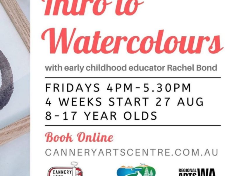 Intro to Watercolours - The Cannery Arts Centre